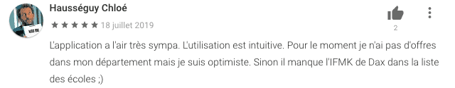 commentaire app'ines google store n°14